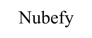 mark for NUBEFY, trademark #85516940