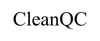 mark for CLEANQC, trademark #85517551