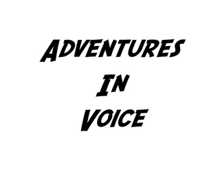 mark for ADVENTURES IN VOICE, trademark #85517586