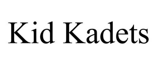 mark for KID KADETS, trademark #85517923