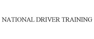 mark for NATIONAL DRIVER TRAINING, trademark #85517950