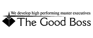 mark for WE DEVELOP HIGH PERFORMING MASTER EXECUTIVES THE GOOD BOSS, trademark #85517952
