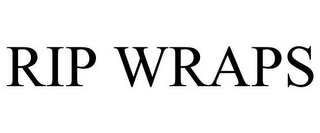 mark for RIP WRAPS, trademark #85517955