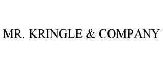 mark for MR. KRINGLE & COMPANY, trademark #85518210
