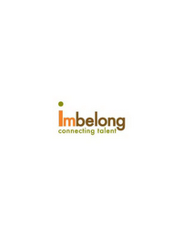 mark for IMBELONG CONNECTING TALENT, trademark #85518707