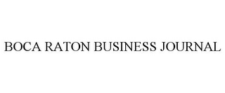mark for BOCA RATON BUSINESS JOURNAL, trademark #85518731