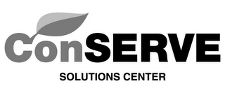 mark for CONSERVE SOLUTIONS CENTER, trademark #85518735