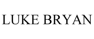 mark for LUKE BRYAN, trademark #85519093