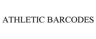 mark for ATHLETIC BARCODES, trademark #85519260