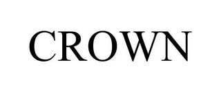 mark for CROWN, trademark #85519274