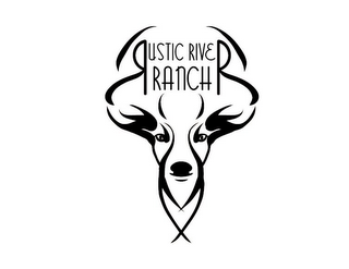 mark for RUSTIC RIVER RANCH, trademark #85519380