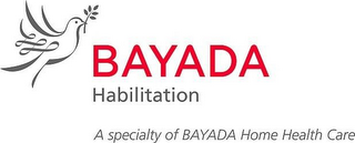 mark for BAYADA HABILITATION A SPECIALTY OF BAYADA HOME HEALTH CARE, trademark #85520106