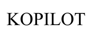 mark for KOPILOT, trademark #85520311