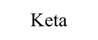 mark for KETA, trademark #85520845