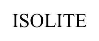 mark for ISOLITE, trademark #85520880
