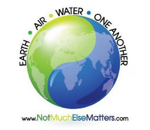 mark for EARTH · AIR · WATER · ONE ANOTHER WWW.NOTMUCHELSEMATTERS.COM, trademark #85520983