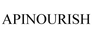 mark for APINOURISH, trademark #85521001
