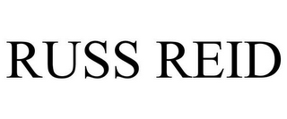 mark for RUSS REID, trademark #85521319
