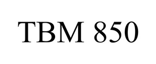 mark for TBM 850, trademark #85521454