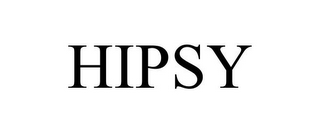 mark for HIPSY, trademark #85522372