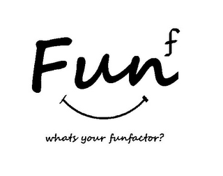 mark for WHATS YOUR FUNFACTOR? FUNF, trademark #85522917