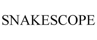 mark for SNAKESCOPE, trademark #85522956