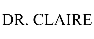mark for DR. CLAIRE, trademark #85523734