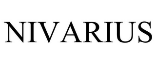 mark for NIVARIUS, trademark #85523982