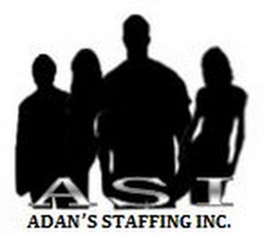 mark for ASI ADAN'S STAFFING INC., trademark #85524385