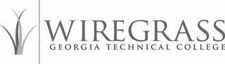 mark for WIREGRASS GEORGIA TECHNICAL COLLEGE, trademark #85524496