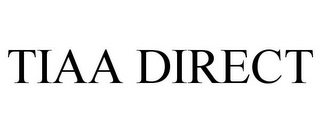 mark for TIAA DIRECT, trademark #85524575