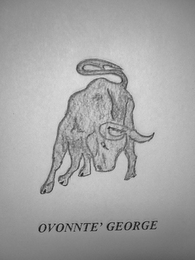mark for OVONNTE' GEORGE, trademark #85524597