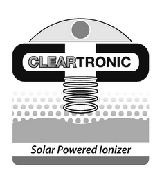 mark for CLEARTRONIC SOLAR POWERED IONIZER, trademark #85524892