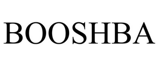 mark for BOOSHBA, trademark #85524986