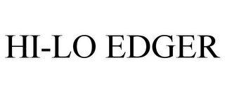 mark for HI-LO EDGER, trademark #85525353