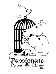 mark for PASSIONATE PAWS & CLAWS LLC, trademark #85525369