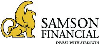 mark for SAMSON FINANCIAL INVEST WITH STRENGTH, trademark #85525539
