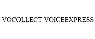 mark for VOCOLLECT VOICEEXPRESS, trademark #85526567