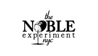mark for THE NOBLE EXPERIMENT NYC, trademark #85526959