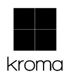mark for KROMA, trademark #85527011