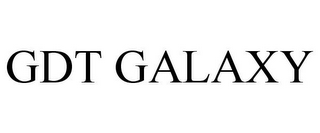 mark for GDT GALAXY, trademark #85527133
