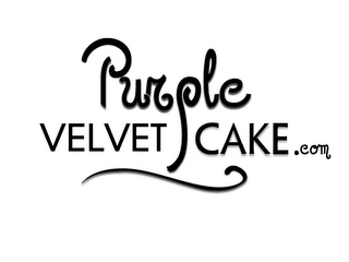 mark for PURPLE VELVET CAKE.COM, trademark #85527405