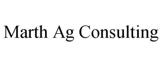 mark for MARTH AG CONSULTING, trademark #85528087