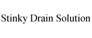 mark for STINKY DRAIN SOLUTION, trademark #85528445