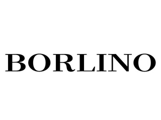 mark for BORLINO, trademark #85528976