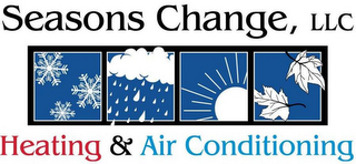 mark for SEASONS CHANGE, LLC HEATING & AIR CONDITIONING, trademark #85529041