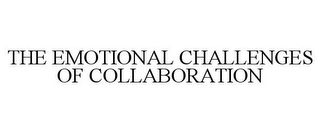 mark for THE EMOTIONAL CHALLENGES OF COLLABORATION, trademark #85529509