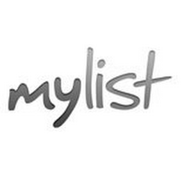 mark for MYLIST, trademark #85529623
