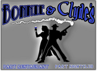mark for BONNIE & CLYDE'S PART RESTAURANT PART NIGHTCLUB, trademark #85529653