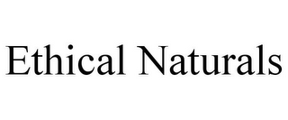 mark for ETHICAL NATURALS, trademark #85529691